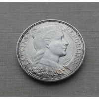 Латвия, 5 латов 1931 г., серебро