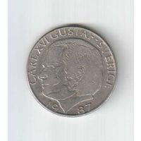 1 крона 1987 года Швеции 12