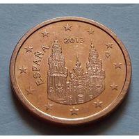 2 евроцента, Испания 2013 г.