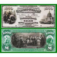 [КОПИЯ] США 1000 долларов 1876 г.