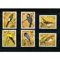Камбоджа 1996г, птички, 6м.