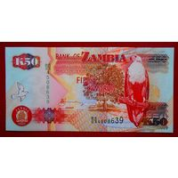 Замбия, 50 квача, 2009 г., UNC