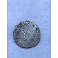 3 гроша 1717 г. - с 1 рубля.