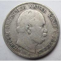 Германия. 2 марки 1876. Серебро. 429