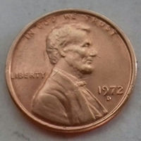 1 цент США 1972 D