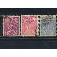 Иран Персия 1926 Шах Реза Пехлеви в овале Стандарт #537,538,541