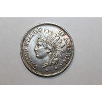 1 доллар 1851 года, КОПИЯ, в посеребрении.