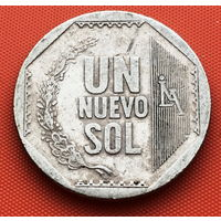 124-17 Перу, 1 новый соль 2006 г.