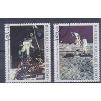 [1705] Конго 1989. Космос. Гашеная серия.