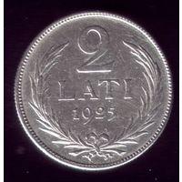 2 Лата 1925 год Латвия
