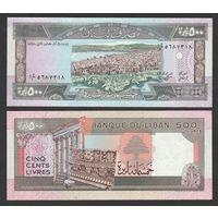 Ливан 500 ливров 1988г.  Состояние UNC .    распродажа