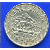 Британская Восточная Африка 1 шиллинг 1952 , Лот 1 , Georg VI