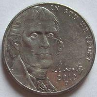 США. 5 центов 2012 P