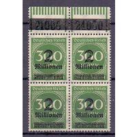 Германия Инфляция НДП Локал Франкфурт Кварт (**) 1923 г