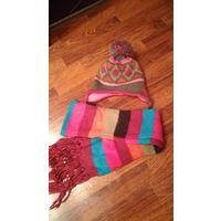 Набор шапка шарф Тополино 52-54