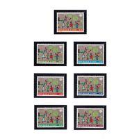 Гаити-1979 (Мих.1348-1354) **  , Спорт, футбол, детс.рисунок
