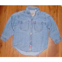 Рубашка для мальчика рост 100-110