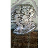 Барельеф ЛЕнин-Сталин(ОБМЕН)