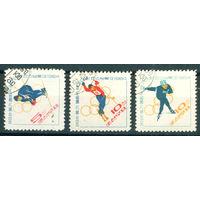 КНДР 1964 олимпиада Инсбрук серия 3м гаш
