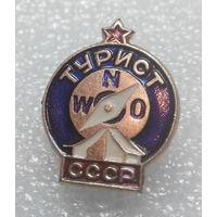 Значок. Турист СССР #0218