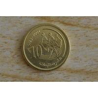 Марокко 10 сантимов 2002