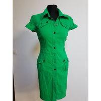 Платье-халат стрейч 42-44