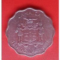 55-38 Ямайка, 10 долларов 1999 г.