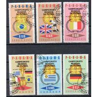 Чемпионат мира по футболу в Англии Панама 1966 год серия из 6 марок