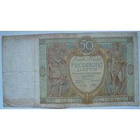 Польша 50 злотых 1929 г.