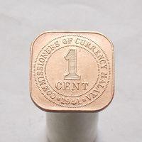 Британская Малайа 1 цент 1941