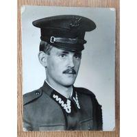 Фото польского солдата. 4.5х6 см