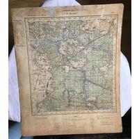Карта Гайнувка РККА 1935 год