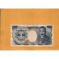 Япония  1000 йен  1990г.  унс