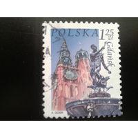 Польша 2004 стандарт статуя Нептуна 17 век