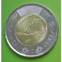 Канада 2 Доллара 2017