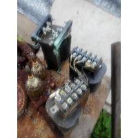Трансформатор 220в\12в-24в-36в. медь.вес 4.5кг.