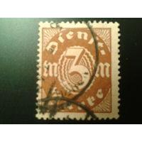 Германия 1921 служебная марка