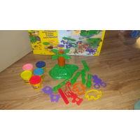 Play-doh наборы и тесто. 4 больших набора, 5 маленьких и тесто
