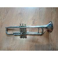 Духовая труба никелированная ( для антуража или на запчасти)