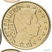 50 евроцентов 2009 Люксембург UNC из ролла