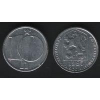 Чехословакия _km80 10 геллер 1985 год (f50)(ks00)