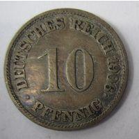 Германия. 10 пфеннигов 1906 J . 1-53