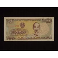 Вьетнам, 1000 донгов 1988 год, UNC