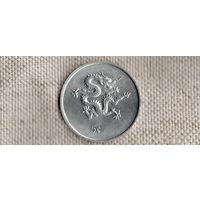 Либерия 5 центов 2000 дракон//(Li)