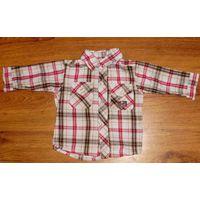 Рубашка для мальчика рост 68