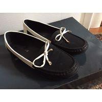 Туфли на низком балетки 37-38 размер