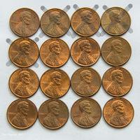1 цент США 1980. Поштучно