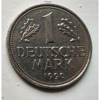 """Германия 1 марка, 1990 Отметка """"D""""  2-2-5"""