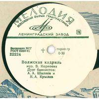 78об. для патефона А. А. Шалаев и Н. А. Крылов (дуэт баянистов) – Волжская кадриль / Барыня