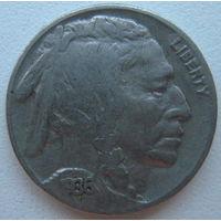 США 5 центов 1936 г. Buffalo Nickel
